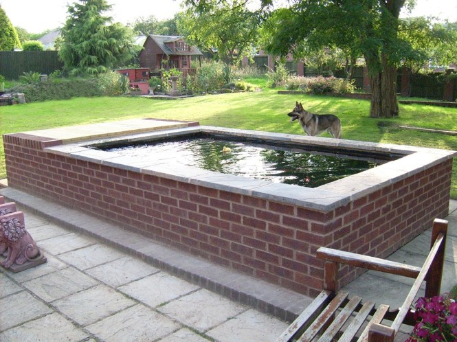 Parkes Landscaping Garden Pool minus Car