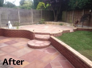 Parkes Patio After