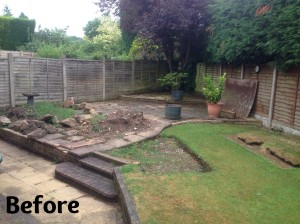 Parkes Patio Before